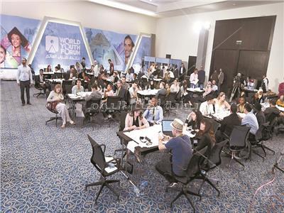 منتدى شباب العالم| مناقشات مهمة في ورش العمل حول تنمية أفريقيا والثورة الرقمية وأصحاب الهمم