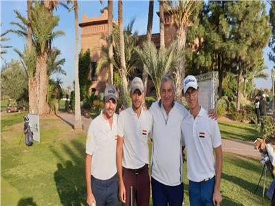 فراعنة الجولف يقفزون للمركز الثاني في البطولة العربية