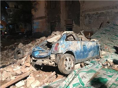 بالأسماء | مصرع 5 أشخاص في انهيار عقار الإسكندرية