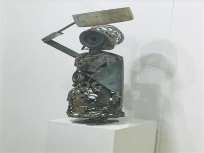 معرض «همس الحديد» بنقابة التشكيليين الخميس المقبل
