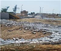 إزالة 12 حالة تعدٍ على أراضي الدولة في أسوان