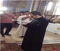 الكاثوليكية تحتفل بارتداء الثوب الاكليريكي للشماس وسيم حنا