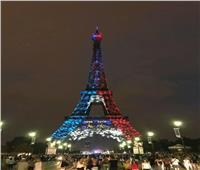 روسيا 2018| برج إيفل يتزين بعلم فرنسا في ليلة التتويج بالمونديال