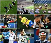 أفضل 30 صورة في مونديال روسيا 2018