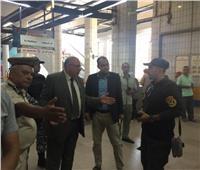 مدير أمن القليوبية يفاجئ قوات تأمين محطة مترو كلية الزراعة