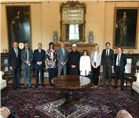 وزيرة الهجرة تلتقي شيخ الأزهر وتوني بلير خلال مشاركتها بـ«منتدى شباب صناع السلام»