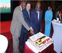السفارة المصرية في أوغندا تحيى الذكرى الـ 66 لثورة يوليو
