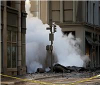 العالم في صور| الدخان يغطي سماء مانهاتن بعد انفجار ضخم