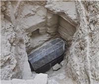 شاهد عملية نقل تابوت الإسكندرية لمنطقة آثار مصطفى كامل