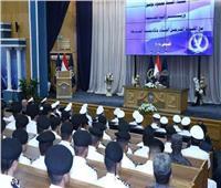 وزير الداخلية يدعو الضباط الجدد لتضييق الخناق على الإرهابيين