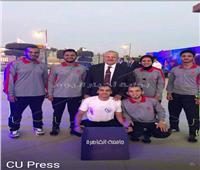 الخشت يلتقي «طلاب القاهرة» المشاركين بأسبوع شباب المدن بجامعة السويس