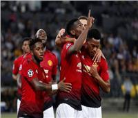 فيديو| مانشستر يونايتد يكتسح يونج بويز بثلاثية في دوري الأبطال