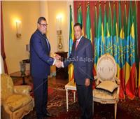الرئيس الإثيوبي يستقبل سفير مصر في أديس أبابا