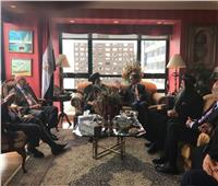 البابا تواضروس يزور القنصلية المصرية في نيويورك