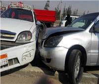 مصرع وإصابة 11 في تصادم سيارتين بمحور جوزيف تيتو