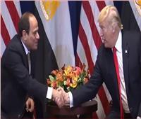 السيسي لـ«ترامب»: علاقتنا تعكس حجم العلاقة القوية بين البلدين