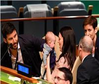 «طفلة نيوزيلندا الأولى» تحضر قمة للسلام بالأمم المتحدة
