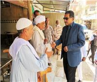 مدير أمن الإسماعيلية يفتح ميدان المطافئ لتسهيل الحركة المرورية