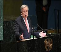 جوتيريس: المجتمع الدولي يواجه تحديات كبيرة .. وهدفنا منع انتشار الأسلحة النووية