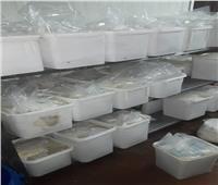 ضبط 3 أطنان منتجات ألبان مجهولة المصدر داخل مصنع في أكتوبر
