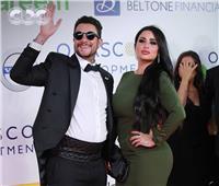 صور| أحمد الفيشاوي وزوجته في أول ظهور لهما بمهرجان الجونة