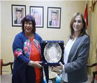 وزيرة الثقافة الأردنية تستقبل عبد الدايم لبحث التعاون الثقافي بين البلدين