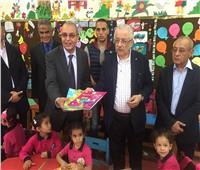 مدبولي وشوقي في زيارة تفقدية لمدارس محافظة بورسعيد