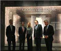 سفير مصر في هولندا يفتتح معرض «الآلهة المصرية» بالمتحف الوطني بمدينة لايدن