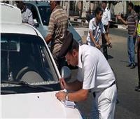 مرور الجيزة يضبط 5576 مخالفة بالشوارع والميادين الرئيسية