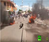 بالفيديو|شاهد..أعمال عنف واحتجاجات في هايتي تطالب باستقالة رئيس البلاد