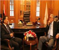 «عاشور» ونائب وزير العدل الصيني يبحثان سبل التعاون المشترك