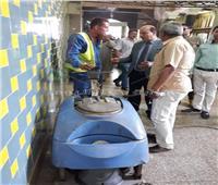 رفع كفاءة محطة قطارات طنطا استعدادا لمولد «السيد البدوي»