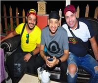 عصام كاريكا وخالد بيبو فى مهرجان رياضي بالشرقية