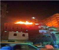 الدفع بـ 10 سيارات إطفاء للسيطرة على حريق بكنيسة العذراء مريم بعين شمس