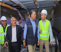 صور| وزير النقل يغادر «مترو مصر الجديدة» ويتعهد بمواصلة الإنجازات