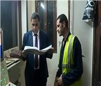 صور| رئيس «السكة الحديد» يفاجئ مواقع التشغيل على خط «القاهرة- أسوان»