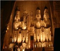 محافظ أسوان يستقبل ضيوف احتفالات «تعامد الشمس» بأبو سمبل