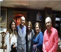 صور| النجوم يشيدون بـ«خيبتنا» لمحمد صبحي
