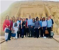 زيارة تفقدية لوزير الآثار وأعضاء مجلس النواب داخل معبد أبوسمبل