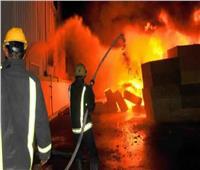 حريق مروع يلتهم شركة للخدمات البترولية بإدكو