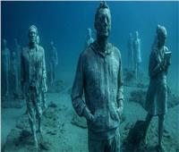 تعرف على حكاية أول متحف للنحت تحت الماء بجزيرة «لانزاروت الإسبانية»