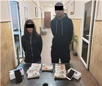 صور.. القبض على المتهمين بسرقة 250 ألف جنية من شقة النزهة
