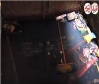 فيديو وصور| «كفر النخلة».. حكاية قرية غارقة في «المجاري»