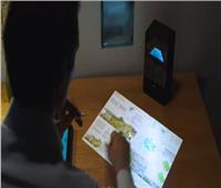شاهد| جهاز يحول أي سطح لشاشة تعمل باللمس