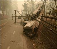 استمرار البحث عن المفقودين في أسوأ حريق غابات بكاليفورنيا
