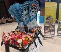صور| حضور مميز لـ«فراشة سيناء الزرقاء» بمؤتمر التنوع البيولوجي