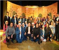 إيناس عبد الدايم ومحافظ كفر الشيخ يفتتحان قصر ثقافة دسوق