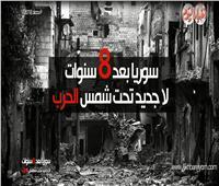 فيديوجراف| سوريا بعد 8 سنوات ..لا جديد تحت شمس الحرب