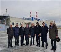 وفد جامعة طنطا يزور المحطة النووية في روسيا