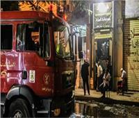«ماس كهربائي» وراء نشوب حريق سوبر ماركت شهير